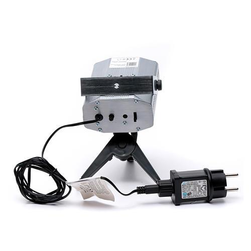 Proiettore laser per interni punti in movimento cuori verde rosso 5