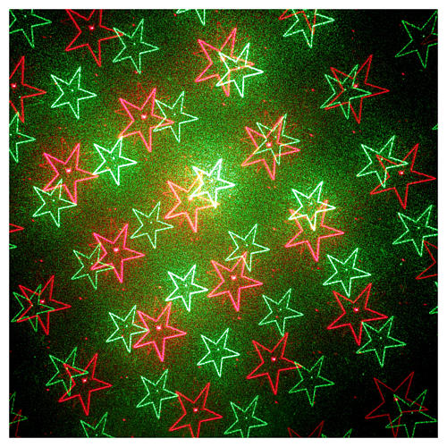 Christmas lights laser projector for interiors blue with heart decorations 4