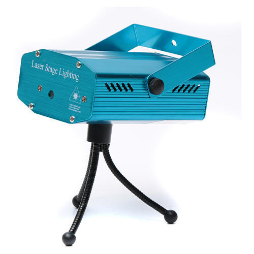 Christmas laser lights projector blue with Christmas decorations for interiors 5
