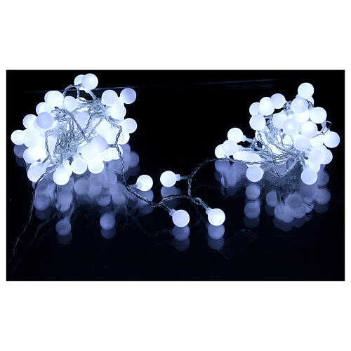Sphere lights 100 led ice white internal and external use 2