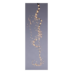 Cascata luminosa 360 nano led Bianco Caldo 1,5 m uso interno s1