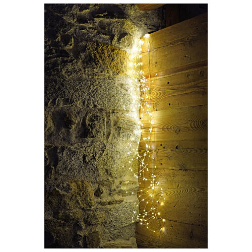 Light waterfall 360 nano led warm white 1.5 m internal use 1