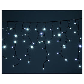 Illuminted curtain 180 ice white leds internal and external use s2