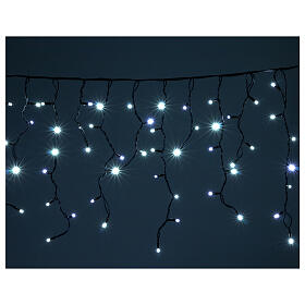 Illuminted curtain 180 ice white leds internal and external use s1