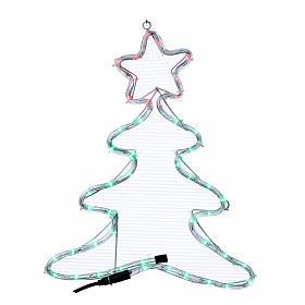 Luce di Natale albero 48 led per interno ed esterno s1