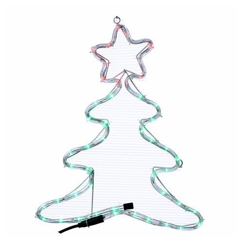 Luce di Natale albero 48 led per interno ed esterno 1