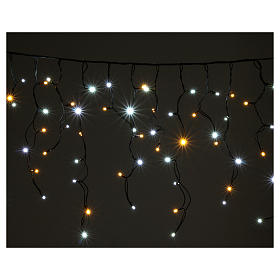 Light curtain 180 leds warm white and ice white internal and external use s2