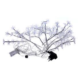 Luci Fiori Trasparenti 100 led bianco freddo interno esterno s5