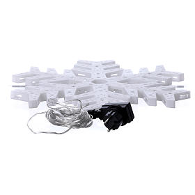 Snow flakes 50 coloured leds internal and external use s3