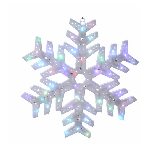 Snow flakes 50 coloured leds internal and external use 1