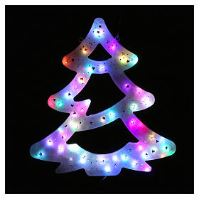 Christmas tree lights 50 coloured leds for internal and external use s2