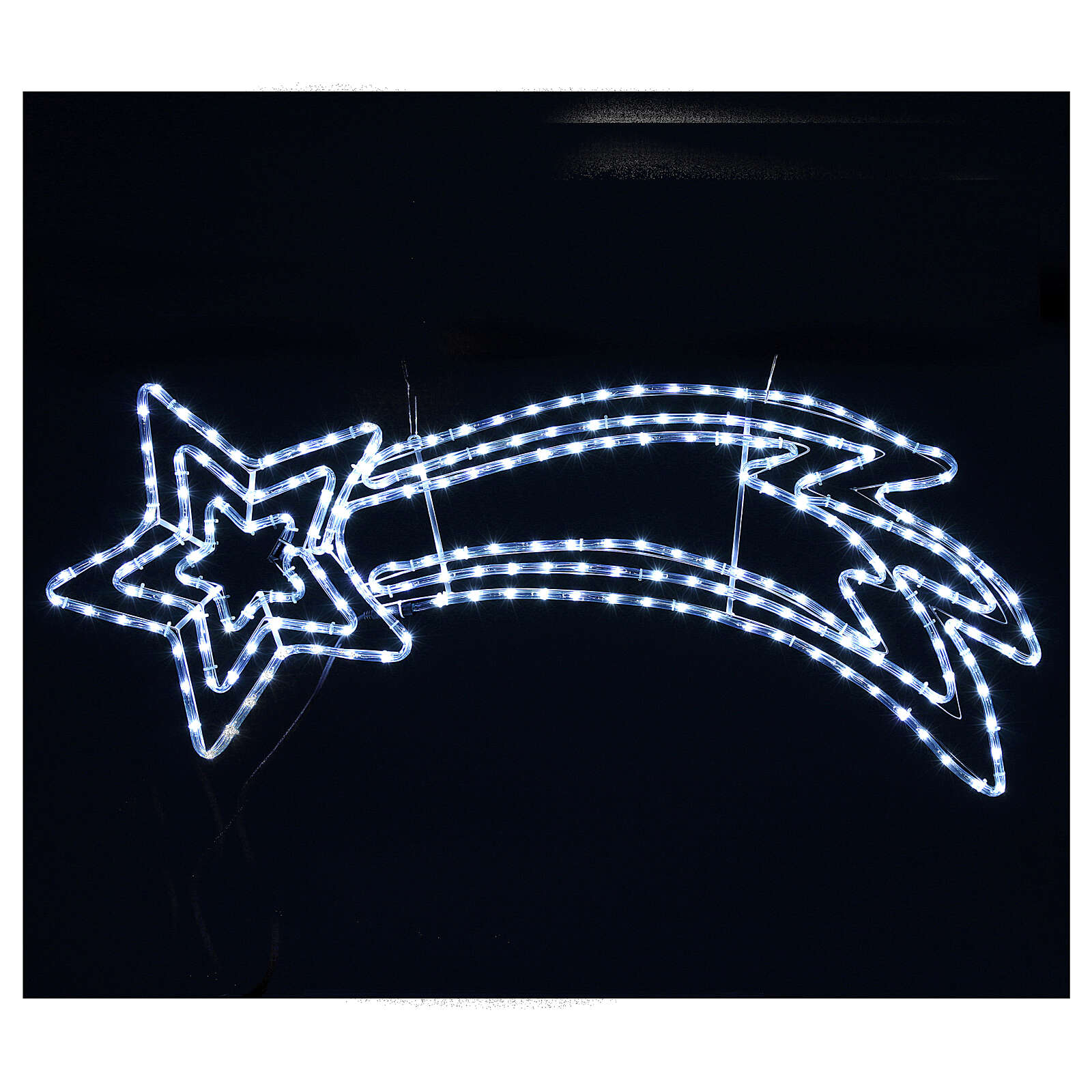 Triple comet star 216 leds ice white internal and external use 3