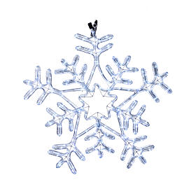 Snow flake light 216 leds for internal and external use ice white s1