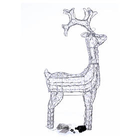 Diamond reindeer 150 leds cold white for external and internal use s4
