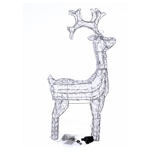 Diamond reindeer 150 leds cold white for external and internal use 4