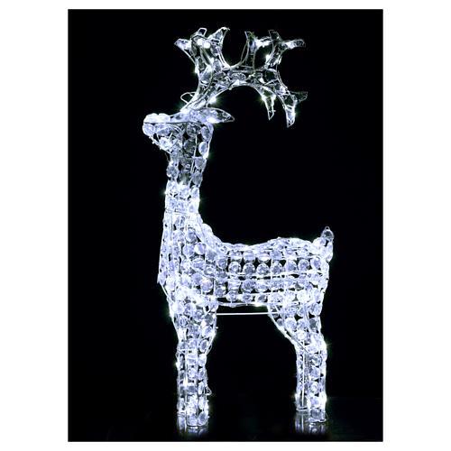 Reno diamantes 150 led blanco frío interno externo 2