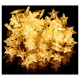 Star lights cable 100 leds warm white internal and external use s1
