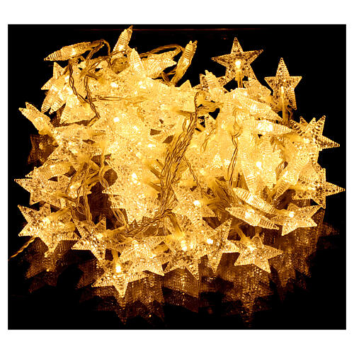 Star lights cable 100 leds warm white internal and external use 1