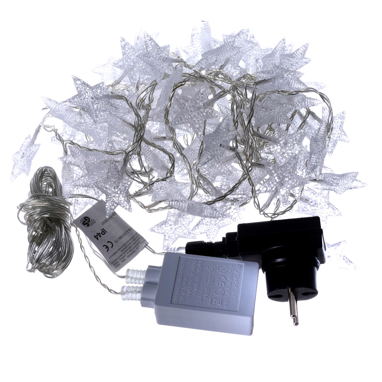 Star lights cable 100 leds ice white internal and external use 3