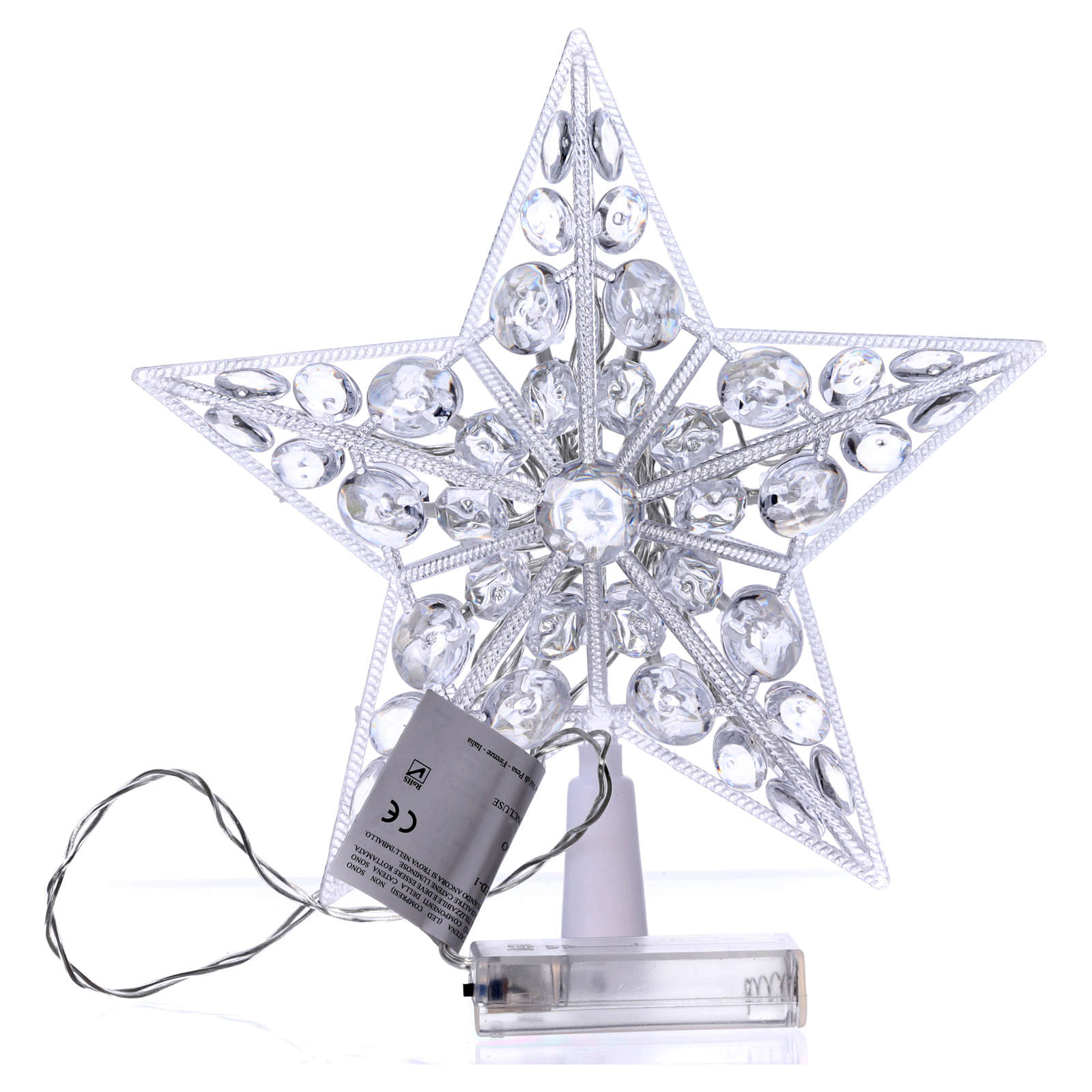Tree topper 16 cold white leds internal use 3