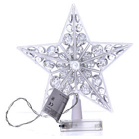 Tree topper 16 cold white leds internal use s4