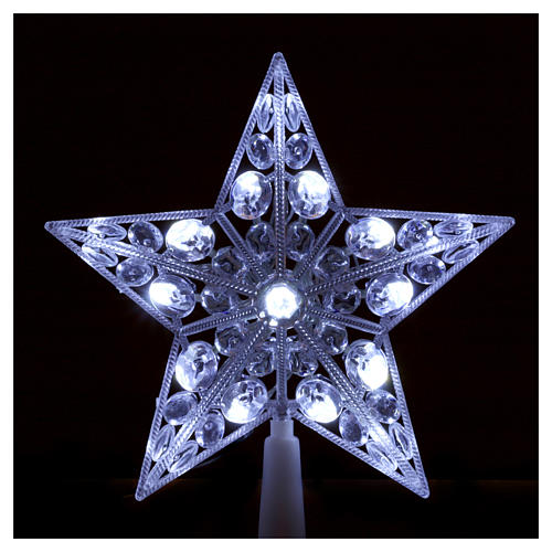 Tree topper 16 cold white leds internal use 2