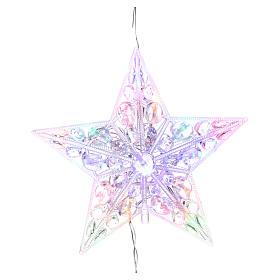 Luces de Navidad: Puntal luminoso 16 Led Multicolores para interior