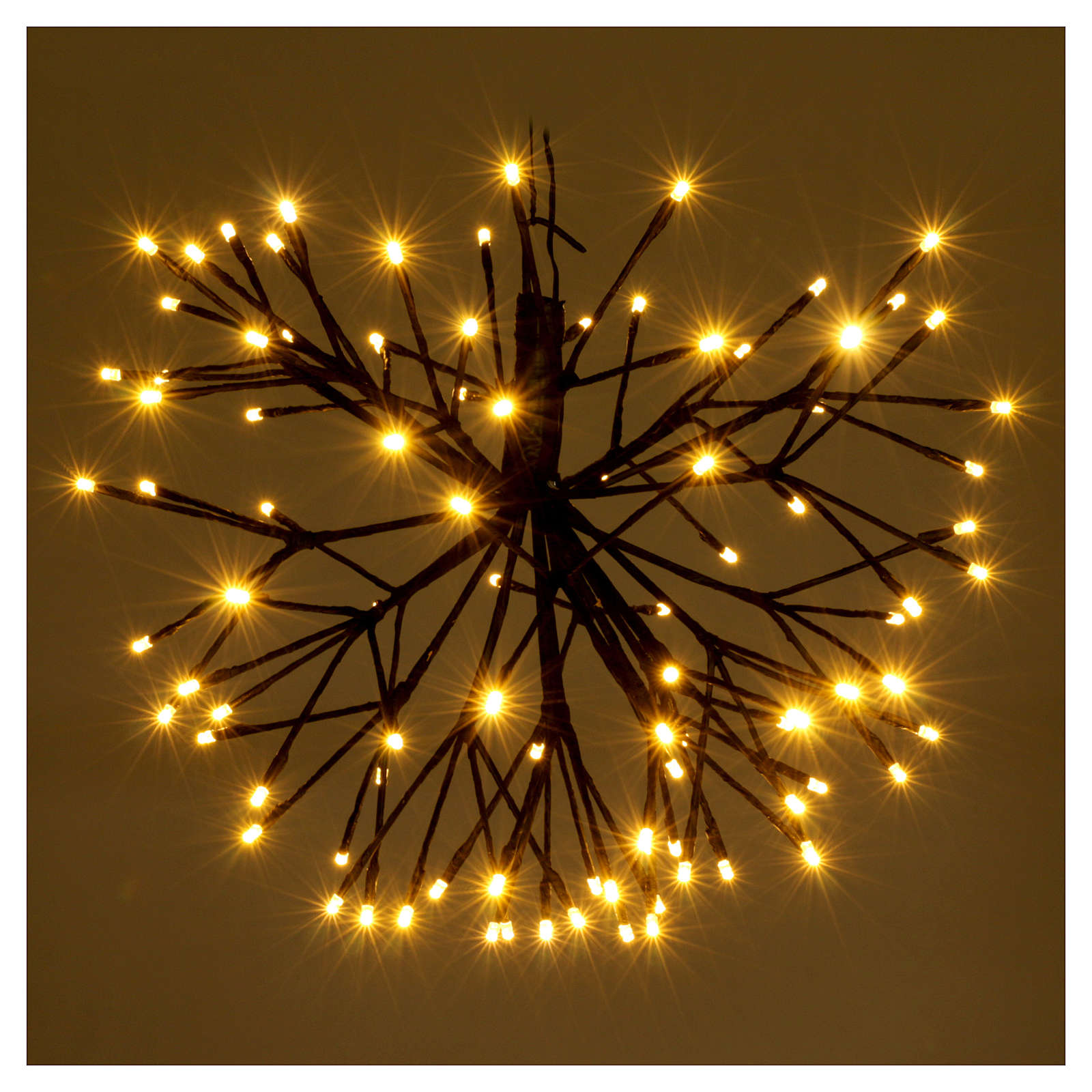 Christmas light firework effect 96 warm white Leds internal and external use 3