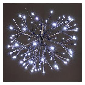 Luce Natale Twig Ball 96 Led Ghiaccio interno esterno s2