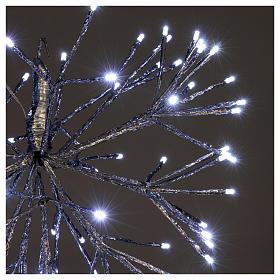Luce Natale Twig Ball 96 Led Ghiaccio interno esterno s3