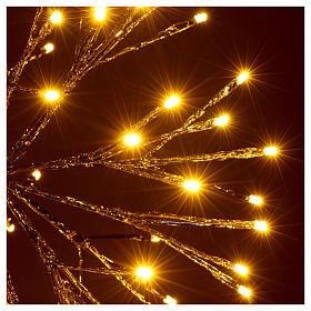 Luz Navidad Bola de Ramas 96 Led blanco cálido interior exterior s3