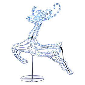 Reindeer jumping light cable 288 leds 92 cm internal and external use s1