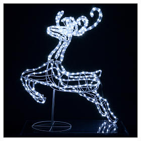 Reindeer jumping light cable 288 leds 92 cm internal and external use s2