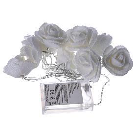 Illuminazione roselline 10 led Bianco Caldo per interno s4