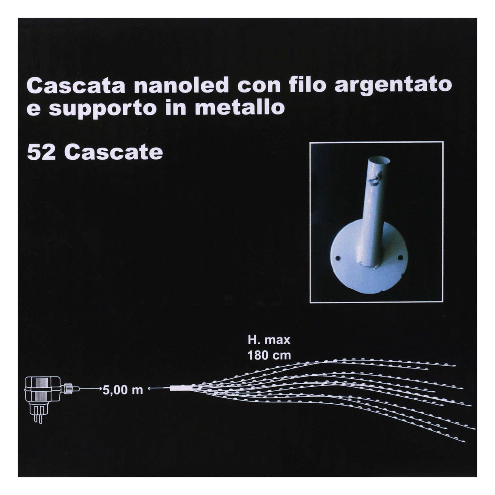 Luce Cascata 1530 nanoled Ghiaccio interno esterno 3