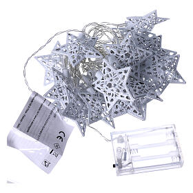 Light cable 20 led stars ice white internal use s4