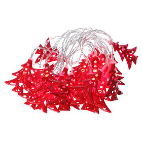 Light cable 20 leds red with trees internal use s1