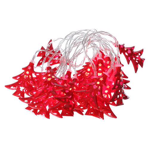 Light cable 20 leds red with trees internal use 1