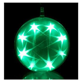 Christmas sphere light 48 leds 15 cm diameter multicoloured s1