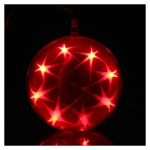 Christmas sphere light 48 leds 15 cm diameter multicoloured 2