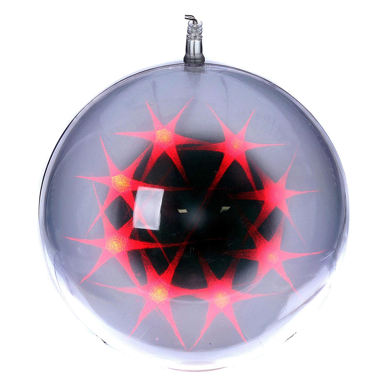 Weihnachtskugel 48 Leds 20cm für Innengebrauch 3