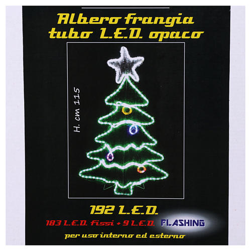 Christmas light cable 192 leds for internal and external use 7