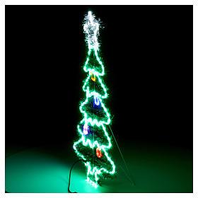 Luz Árbol de Navidad 192 Led interior exterior s5