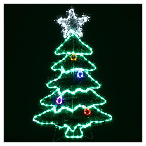 Luz Árbol de Navidad 192 Led interior exterior 2