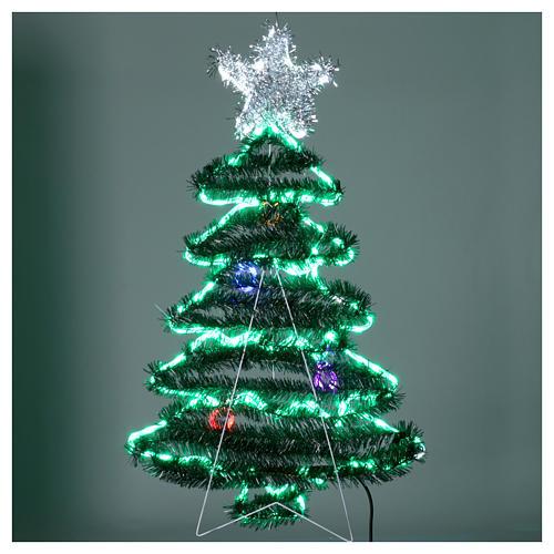 Luz Árbol de Navidad 192 Led interior exterior 4