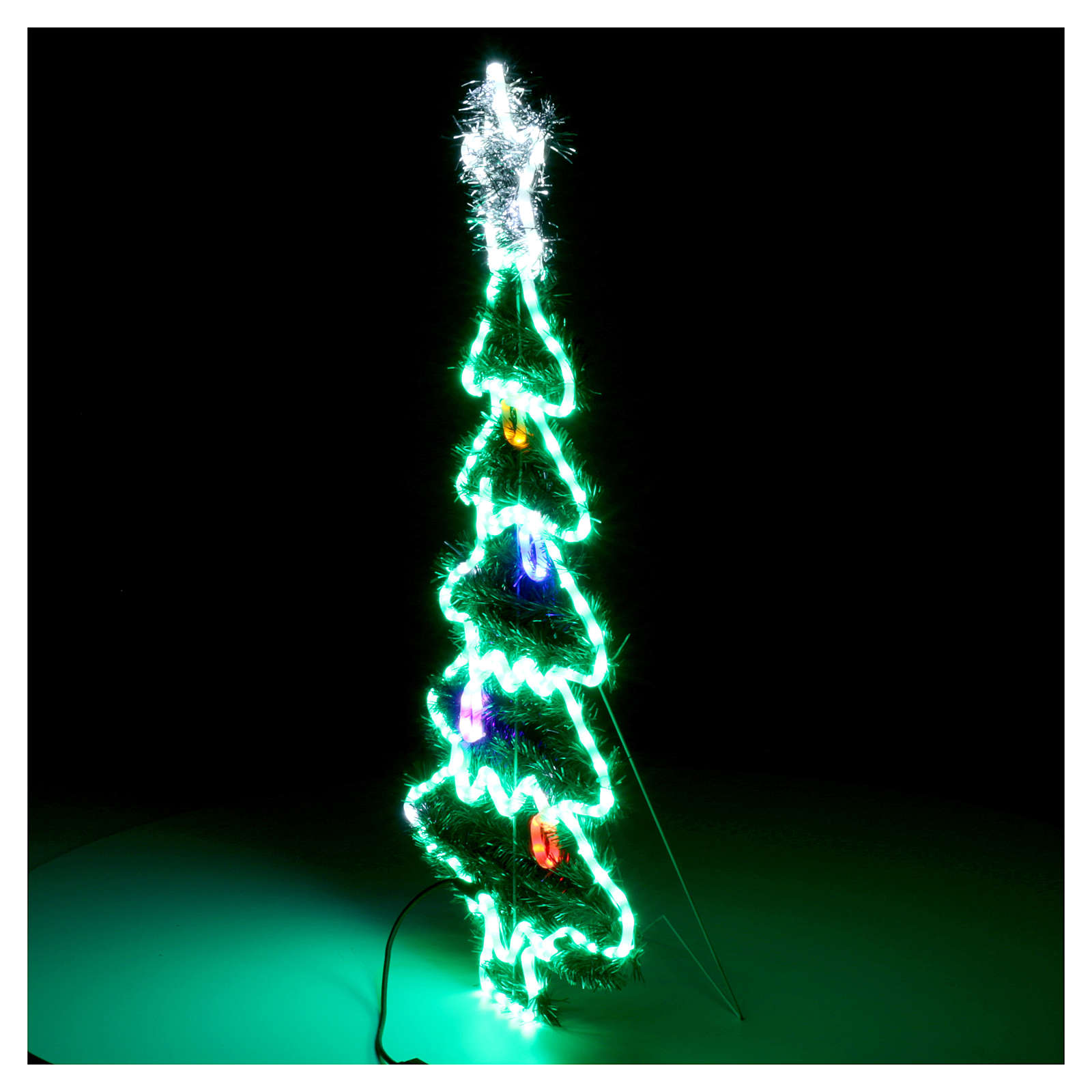 Luce Albero di Natale 192 Led interno esterno 3
