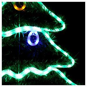 Luce Albero di Natale 192 Led interno esterno s3