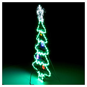 Luce Albero di Natale 192 Led interno esterno s5