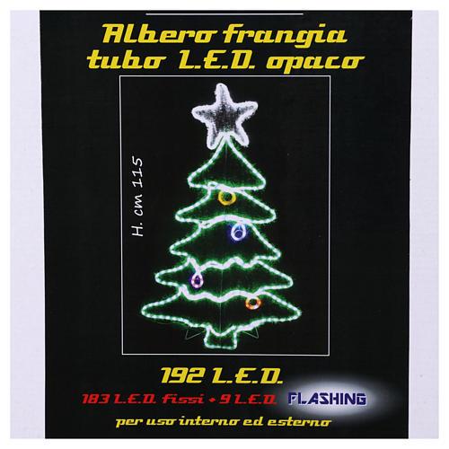 Luce Albero di Natale 192 Led interno esterno 7