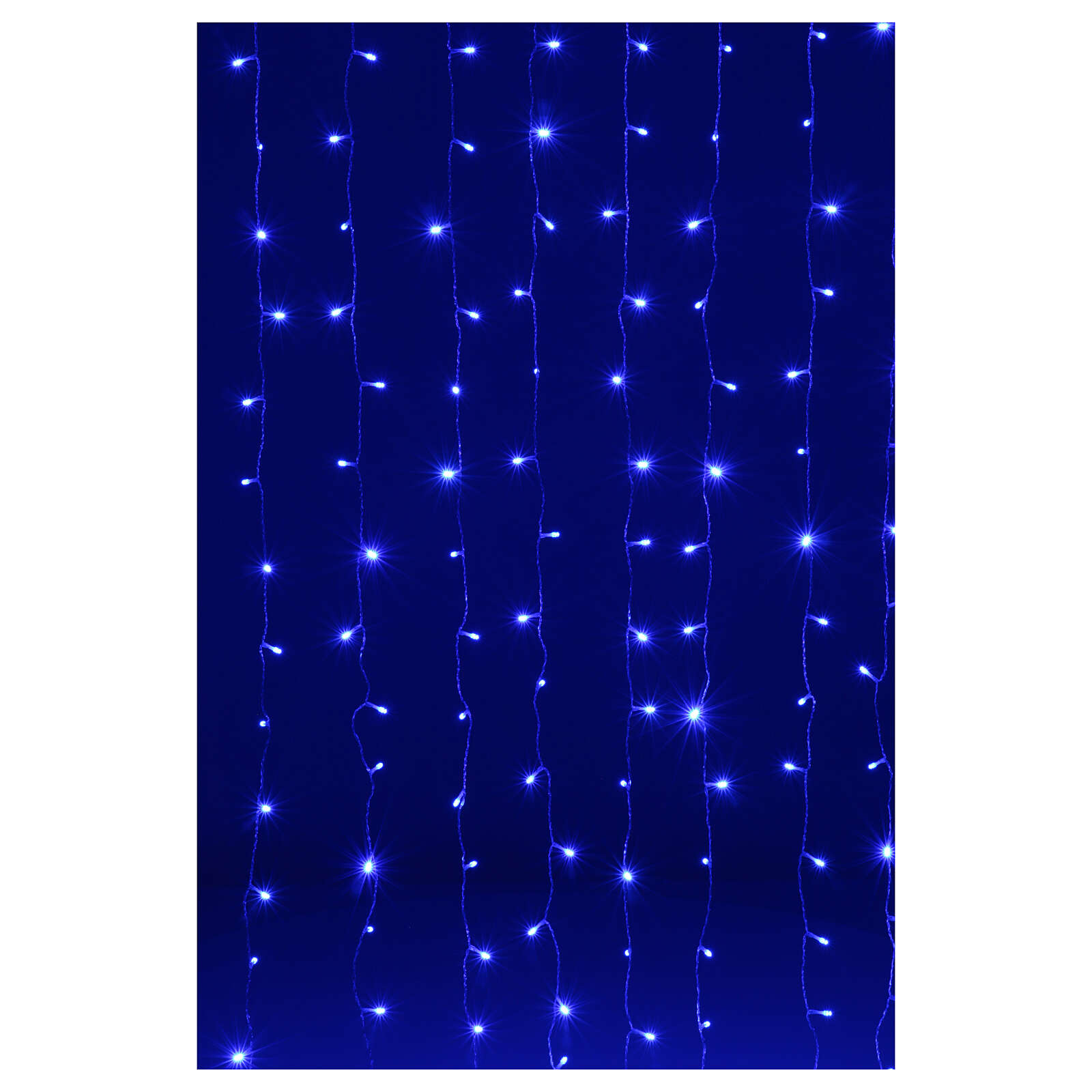 Tenda Luminosa 200 Led fusion Ghiaccio Blu 3